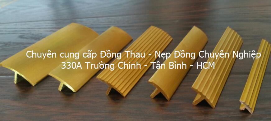 Nẹp Đồng Thau