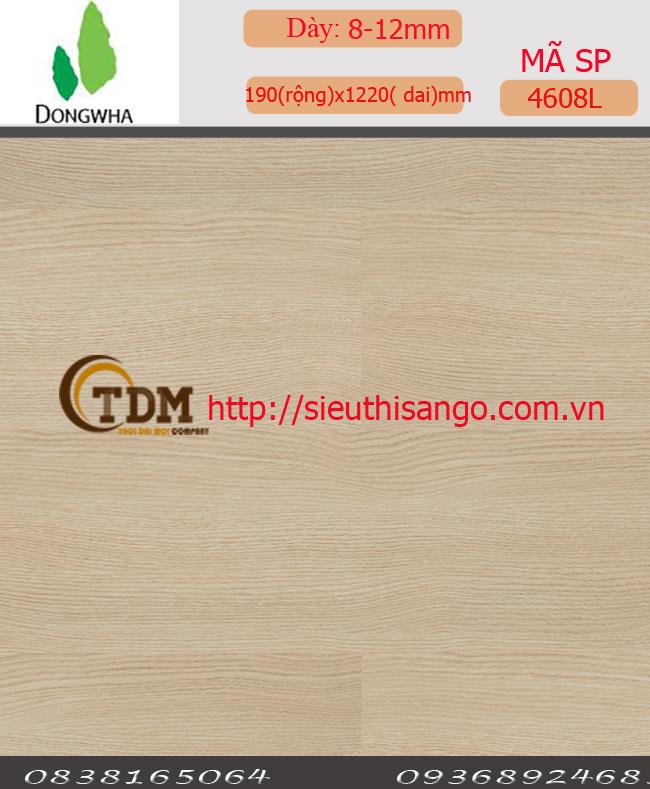 SÀN GỖ DONGWHA - 12MM 4608