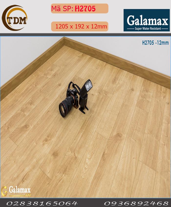 SÀN GỖ GALAMAX H2705 - 12MM