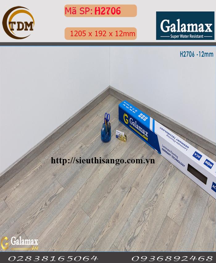 SÀN GỖ GALAMAX H2706 - 12MM