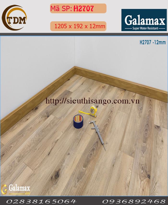 SÀN GỖ GALAMAX H2707 - 12MM