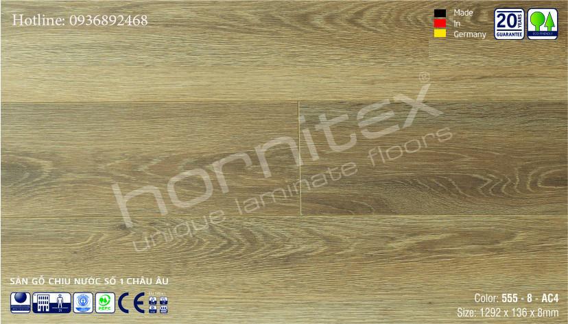 SÀN GỖ HORNITEX 555-8MM