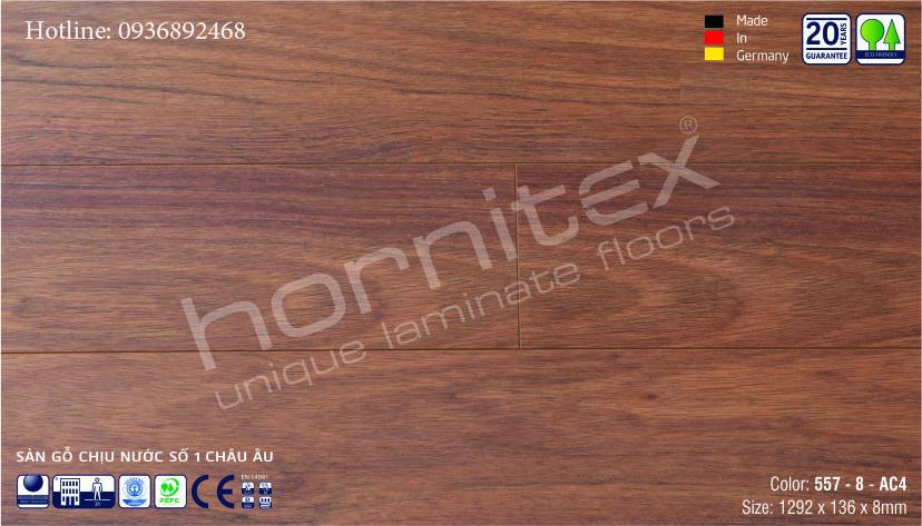 SÀN GỖ HORNITEX 557-8MM