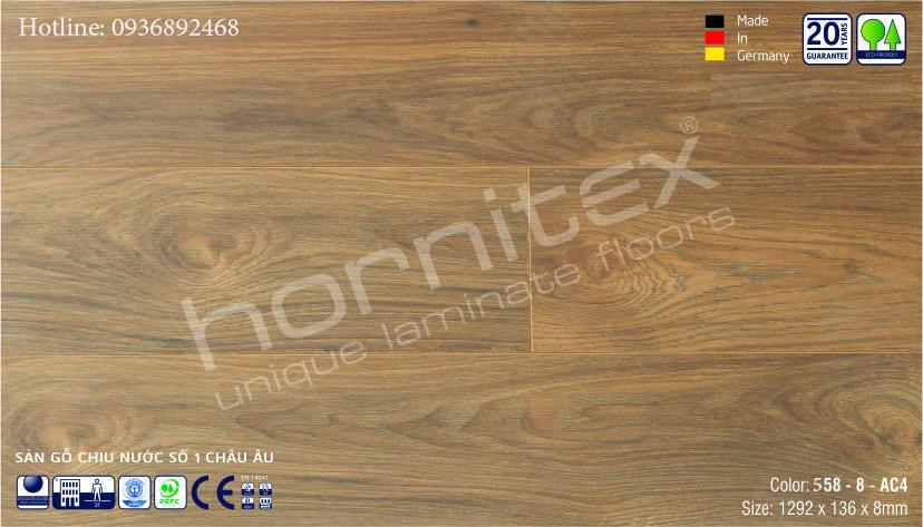 SÀN GỖ HORNITEX 558-8MM