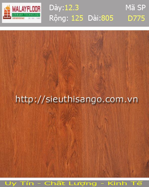 Sàn gỗ Malayfloor 12mm D775