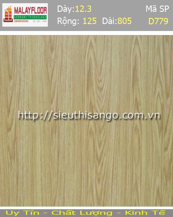 Sàn gỗ Malayfloor 12mm D779