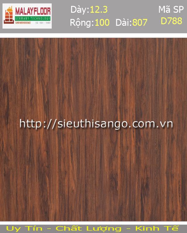 Sàn gỗ Malayfloor 12mm D788