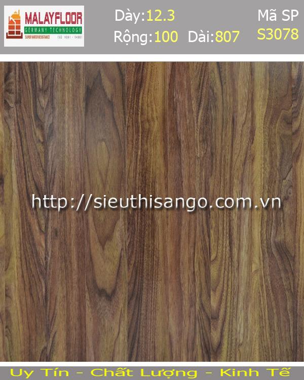 Sàn gỗ Malayfloor 12mm S3078