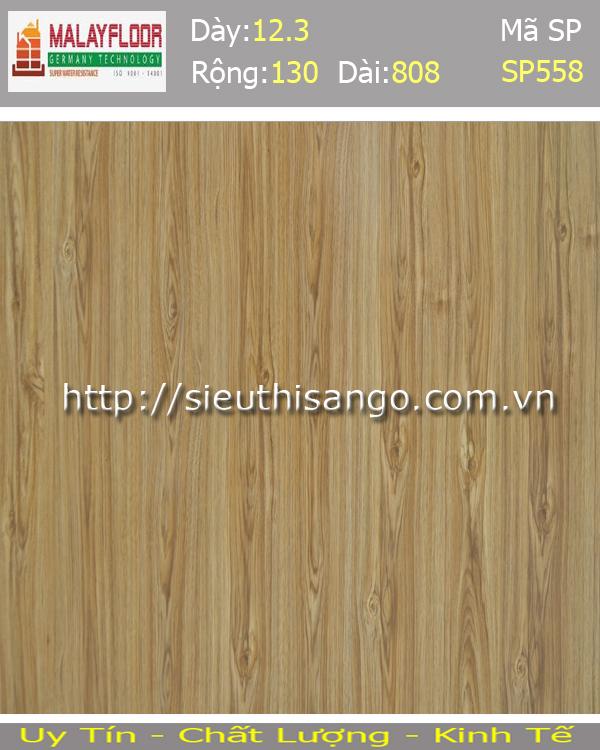 Sàn gỗ Malayfloor 12mm SP558