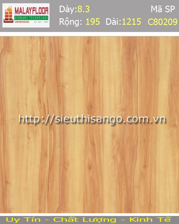 Sàn gỗ Malayfloor 8mm C80209