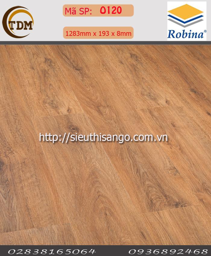 SÀN GỖ ROBINA O120 - 8MM