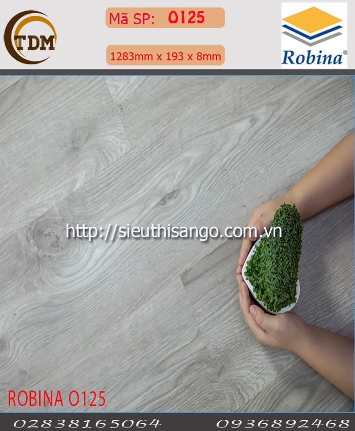 SÀN GỖ ROBINA O125 - 8MM