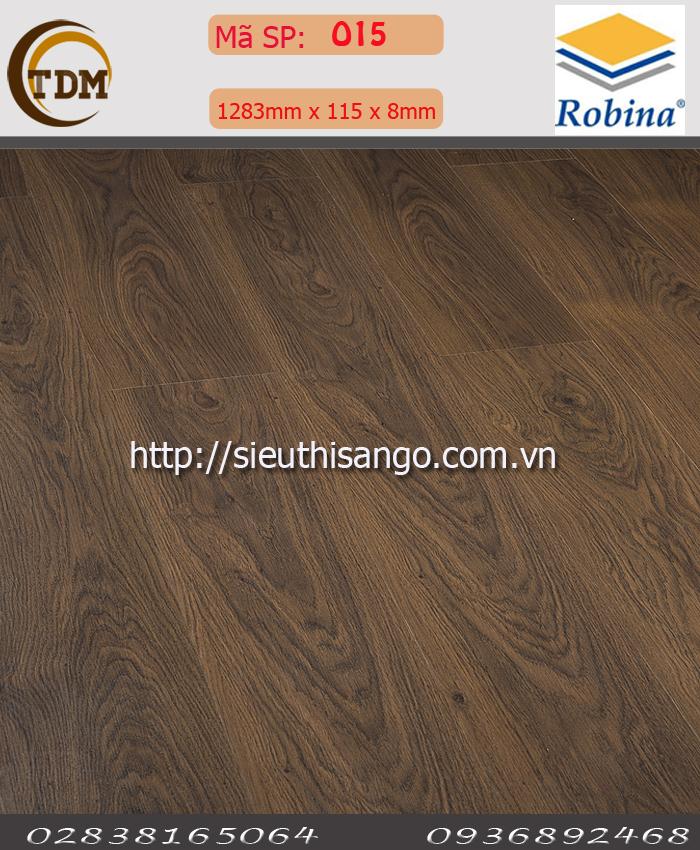 SÀN GỖ ROBINA O15 - 8MM