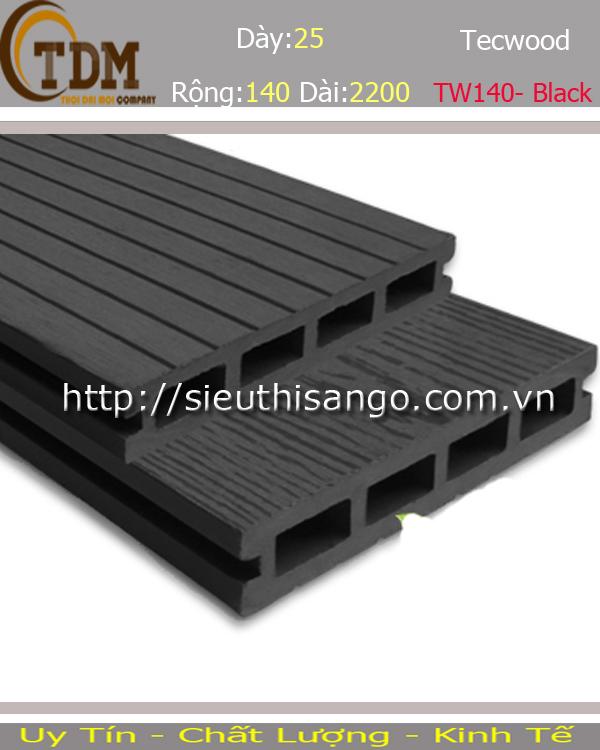SÀN GỖ TECWOOD TW140 - BLACK