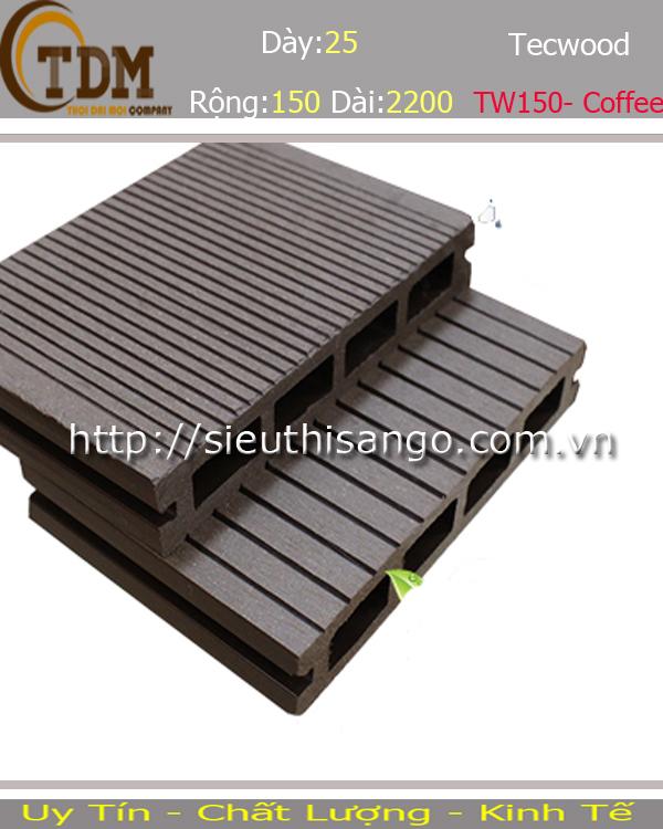 SÀN GỖ TECWOOD TW150 - COFFEE