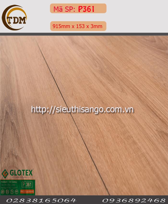 SÀN NHỰA GLOTEX 361 - 3MM